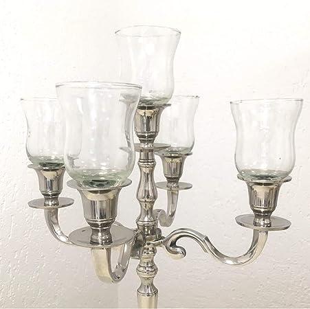 Portalumini in vetro per candeliere