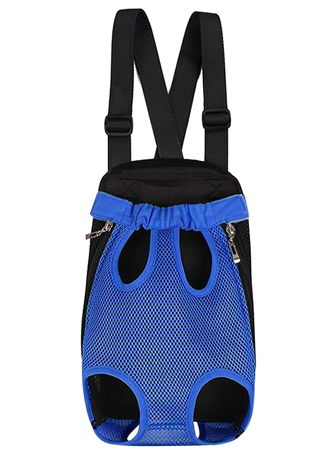 bluee XL bluee XL Funny-Honey Legs Out Front Chest Pet Carrier Backpack bluee Dog Travel Bag for Outdoor Hiking XL