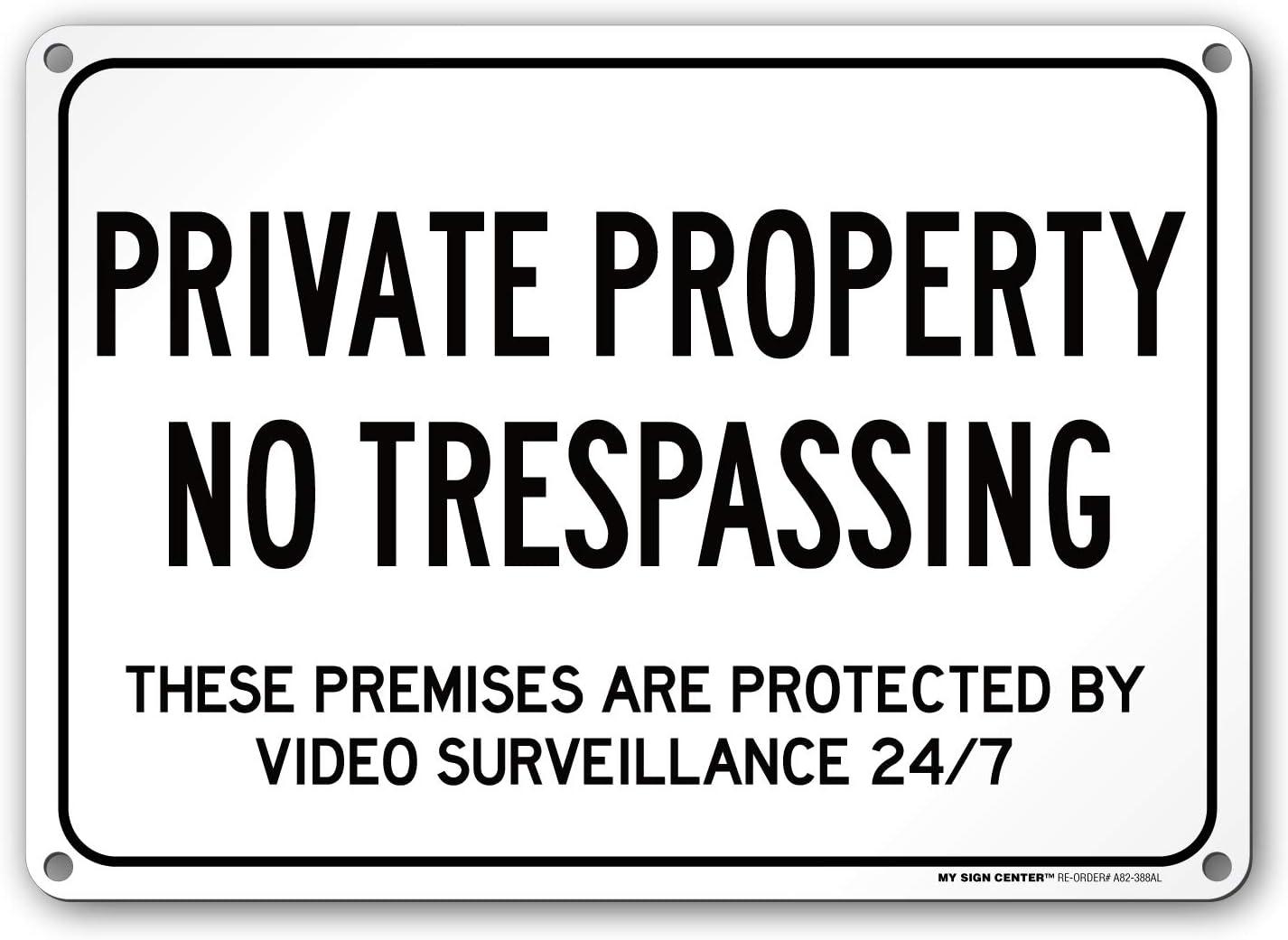 Amazon.com: Propiedad Privada no TRESPASSING estos locales ...