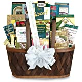 California Delicious Gift Basket, Heartfelt Thoughts Sympathy
