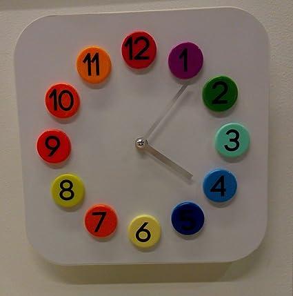 IKEA DASSIGT reloj de pared la habitación infantil