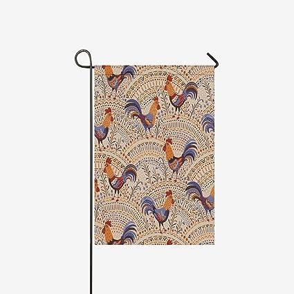 Amazon.com: InterestPrint Bandera de jardín decorativa de ...