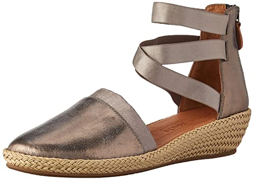 80767edd0dc Gentle Souls Women s Noa-Beth Closed Toe Wedge Espadrille Sandal  Buy  Online at Low Prices in India - Amazon.in