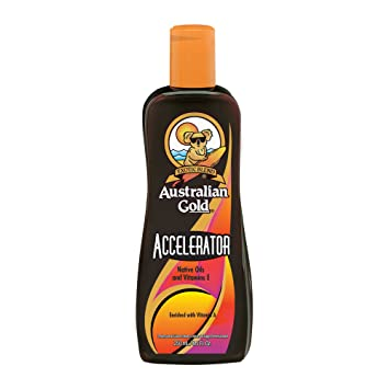 34e3c6a9a7 Image Unavailable. Image not available for. Color  Australian Gold DARK  TANNING ACCELERATOR Lotion ...