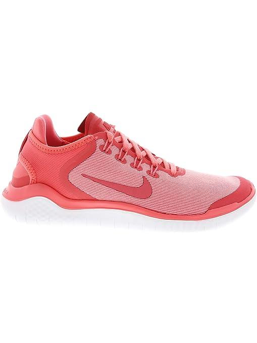 info for 15e4f 0a7be Amazon.com  Nike Women s Free RN 2018 Sun Running Shoe (8 B(M) US, Sea Coral  Tropical Pink)  Nike  Sports   Outdoors