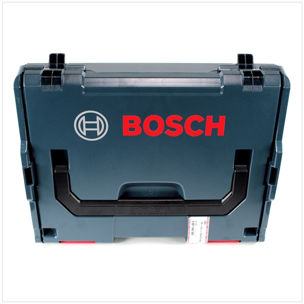Bo/îtier L-Boxx Bosch GDR 12V-105 Professional Visseuse /à chocs sans fil Chargeur GAL 1230 2x Batteries GBA 12 V 6,0 Ah