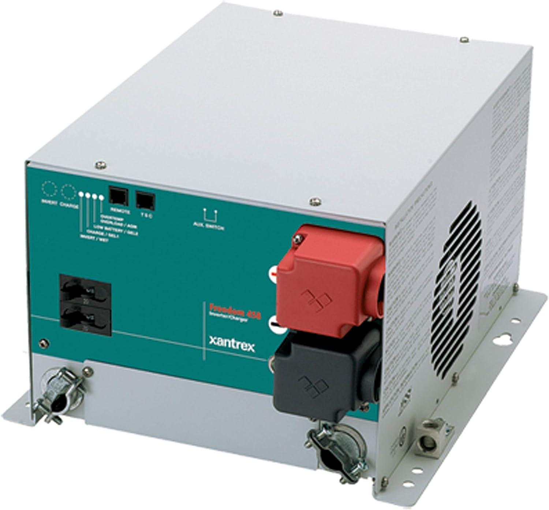 amazon.com: xantrex freedom 458 inverter/charger - single input/dual  output, 81-2022-12: automotive  amazon.com