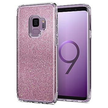 galaxy s9 carcasa glitter