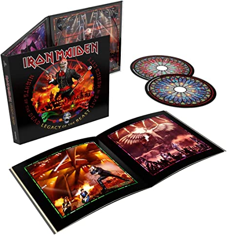 Iron Maiden - Nights Of The Dead - Legacy Of The Beast, Live In Mexico City: Amazon.com.br: CD e Vinil