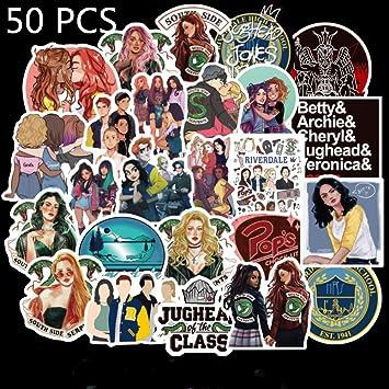 Justch 50 Piezas Laptop Sticker Pack, Riverdale Pegatinas Adultos ...
