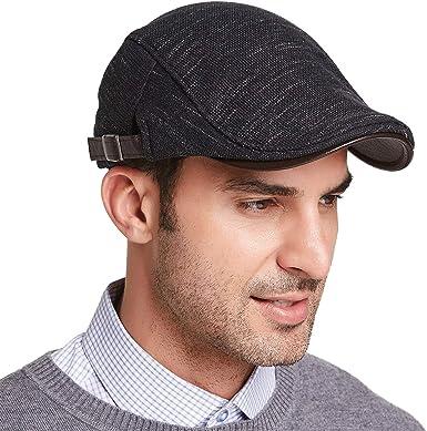 Gisdanchz XL Newsboy Hats for Men Boston Scally Cap for Men Tweed Winter  Mens Plaid Newsboy Cap Flat Cap Mens Newsy Newsies Hat Wool Jeff Ivy Cap  Irish Gatsby Hats for Men