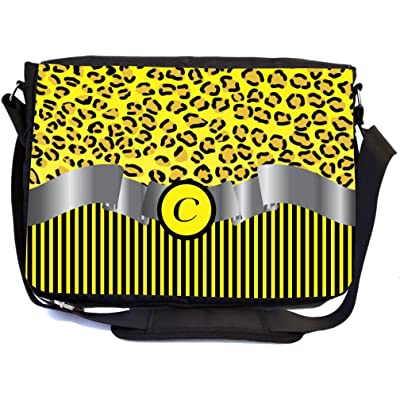 Unisex Pockets Leopard Fanny Pack Waist Bum Bag Adjustable