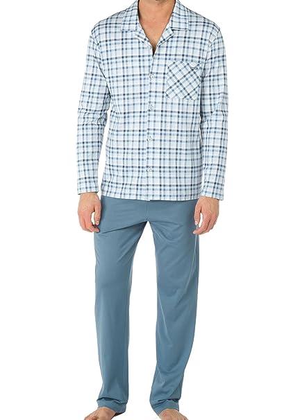 Calida Pyjama Queens-Pijama Hombre Blue Slate Medium