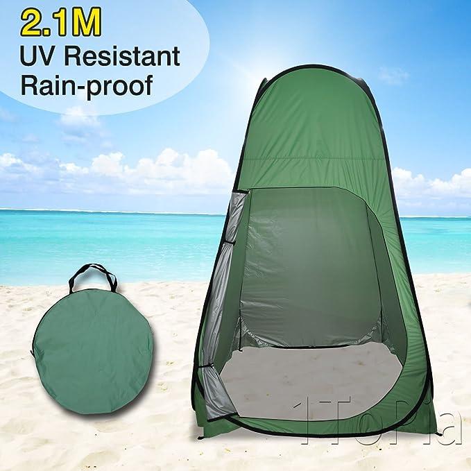 Tienda desplegable de cambiador de ducha playa, acampada, Exterior ...