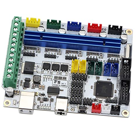 Gazechimp Impresora 3D F5 V1.1 Tarjeta De Control ATMEGA 2560 ...