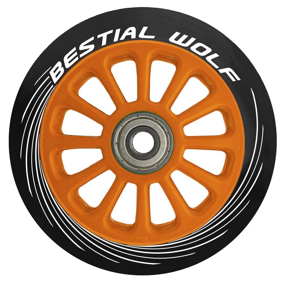 Bestial Wolf Rueda Pilot para Scooter Freestyle, Diámetro 100 mm (Lila): Amazon.es: Deportes y aire libre