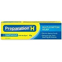 Preparation H  Ointment  (50 g) with Bio-Dyne, Hemorrhoid  Multi-Symptom Pain Relief