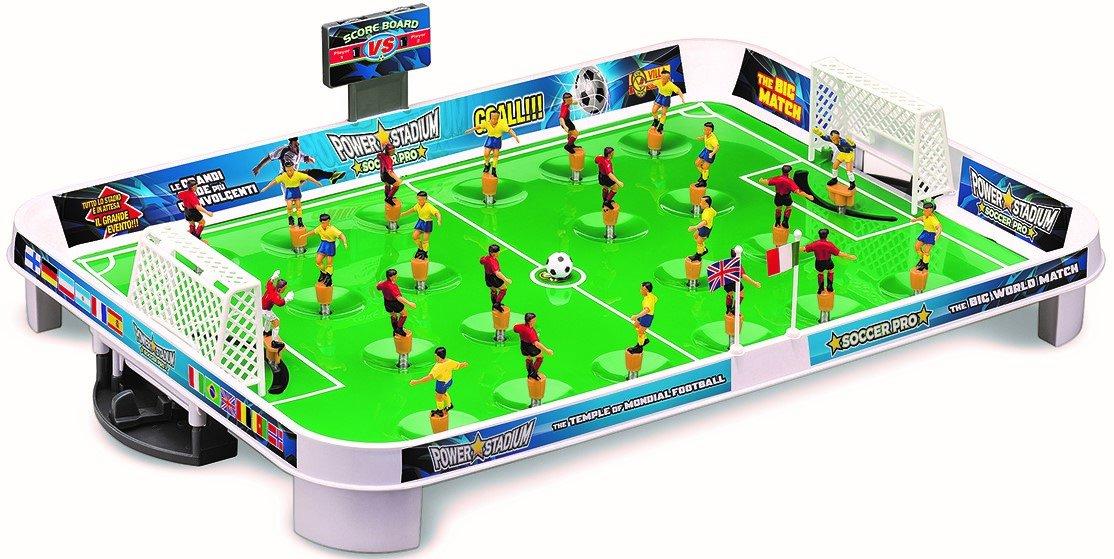 Villa Giocattoli - Calcetto Power Stadium Soccer Pro, Calcio Balilla Biliardino Viila Giocattoli 1011