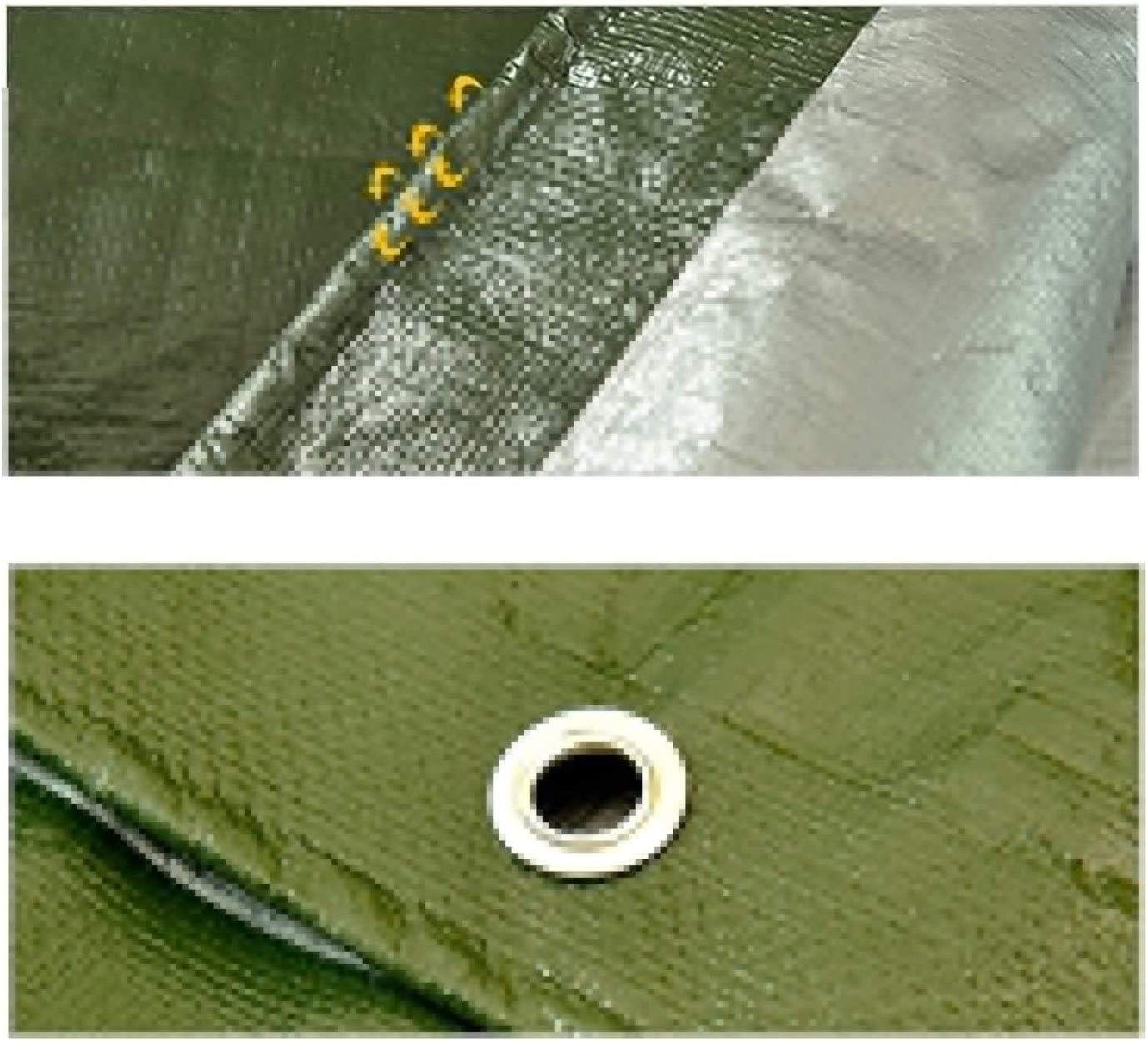 ZX XZ Bâche imperméable Robuste Vert Bâche Conseil de Haute qualité Made Couverture de 200 g / m2 Bâche Green