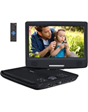 Pumpkin lettore DVD portatile auto 10.1 Pollice, 5 ore di durata, USB/SD/CD/MP3/ AV IN/OUT Regione free