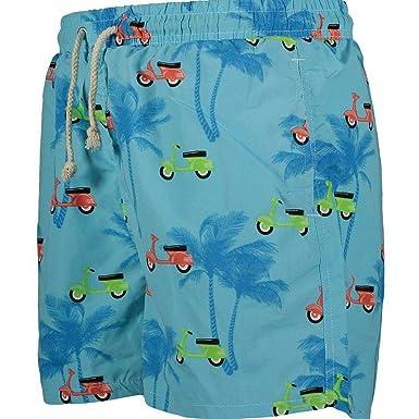 723e1c208a Havacoa Mens Swim Shorts Surf Blue: Amazon.co.uk: Clothing