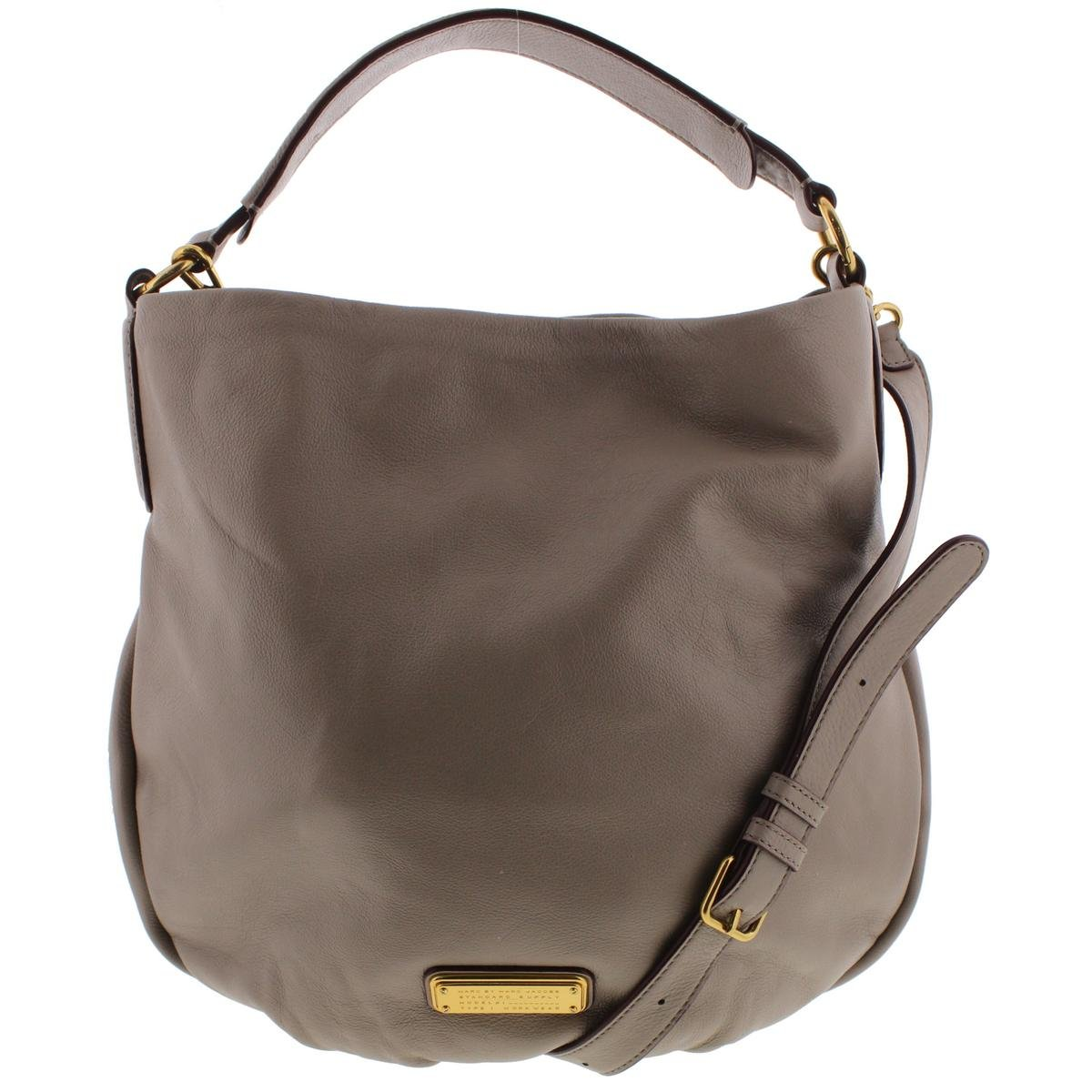 Marc by Marc Jacobs New Q Hillier Convertible Hobo, Cement, One Size