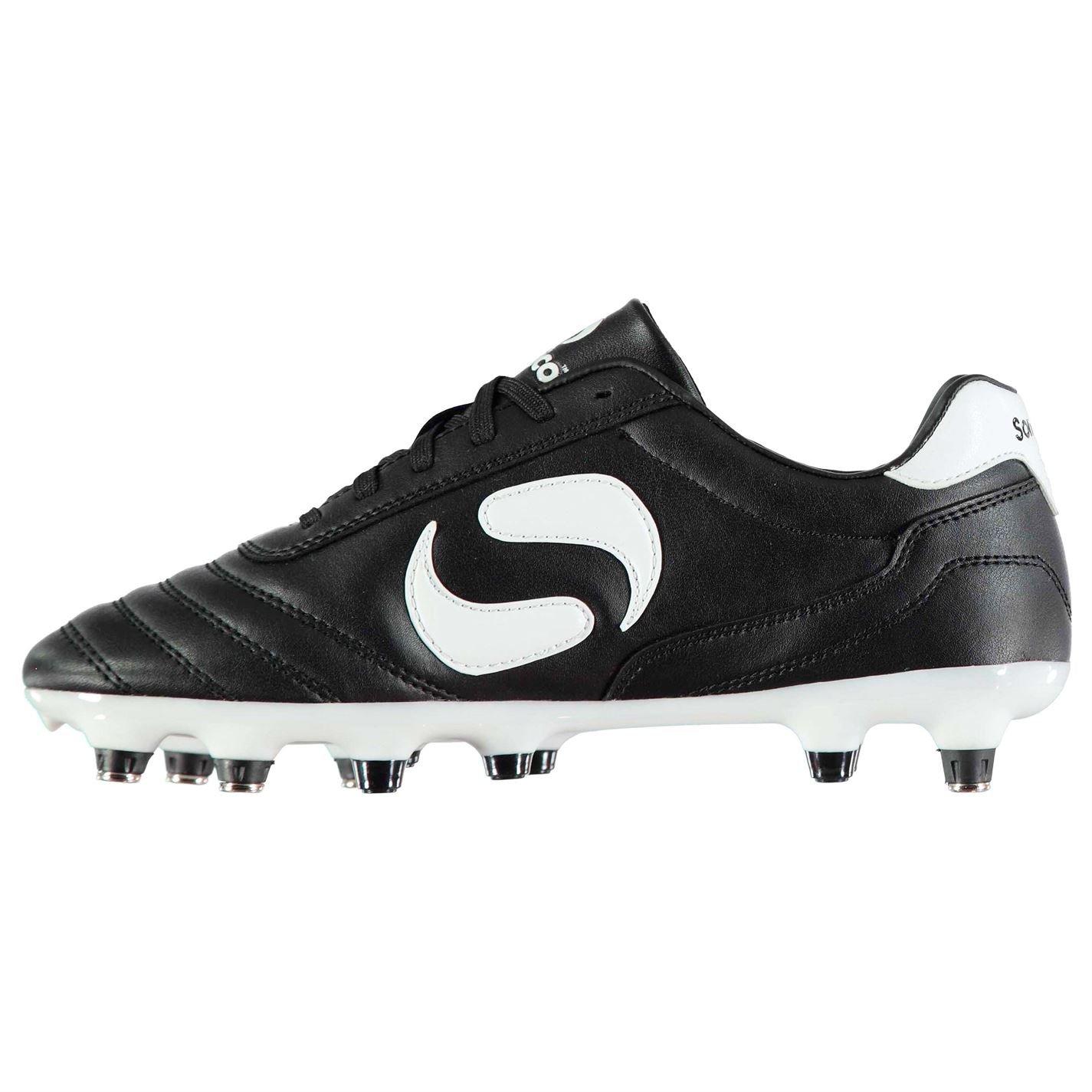 Sondico Kids Strike SG Junior Football Boots Soft Ground Lace Up Studs   Amazon.co.uk  Shoes   Bags 3265ba21589