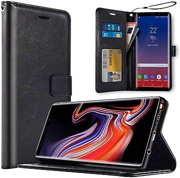 saii Premium Funda para Samsung Galaxy Note9 [Estilo Libro y ...