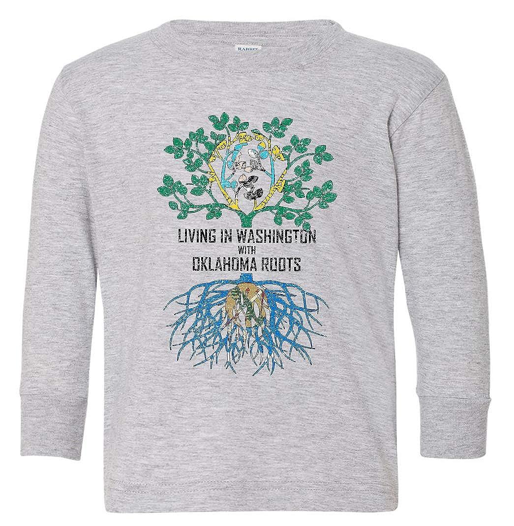 Tenacitee Babys Living in Washington Oklahoma Roots Shirt
