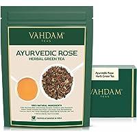 Té de Hierbas Ayurvédico (100 tazas), 21 HIERBAS, té 100% natural, hojas de té verde orgánico mezcladas con 21 hierbas…