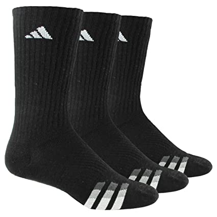 Amazon.com: adidas Mens Cushioned Color Crew Socks (3-Pack ...