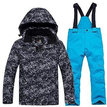 Z&X Chaqueta de esquí para niños y niñas, Pantalones ...