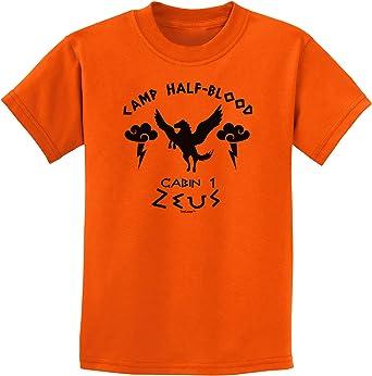 TooLoud Camp Half Blood Cabin 1 Zeus Infant T-Shirt Dark