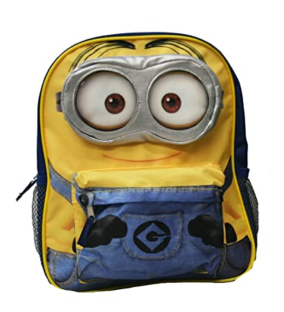 114bf616f06 Image Unavailable. Image not available for. Color  Despicable Me 2 -  12 quot  Minion Backpack
