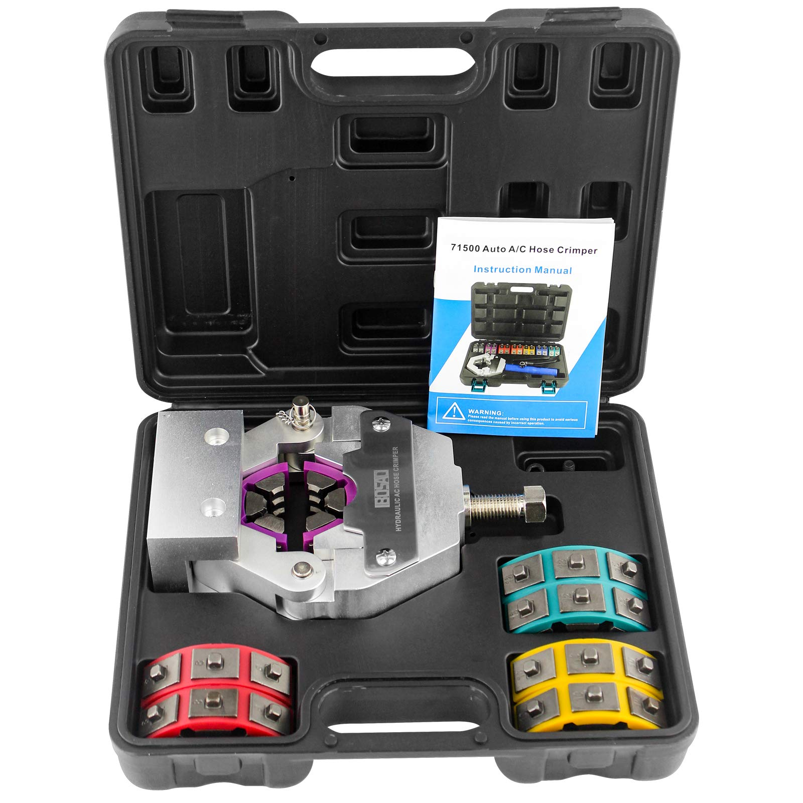 IBOSAD Manual A/C Hose Crimper Kit Automotive Air Conditioning Repaire Tools 71550 Hose Crimping Tool