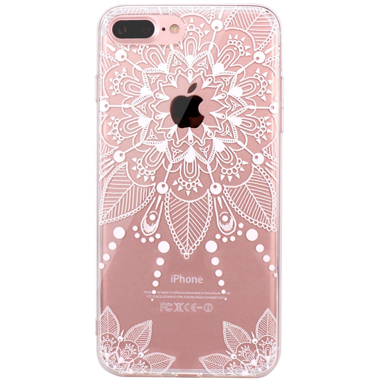 f9e2f865a77cf8 JIAXIUFEN iPhone 7 Hülle, TPU Silikon Schutz Handy Hülle Handytasche  HandyHülle Etui Schale Schutzhülle Case