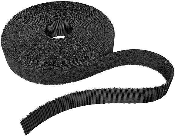 Sommer cable 10 Stück Kabelbinder Klettband 16 x 300 mm schwarz