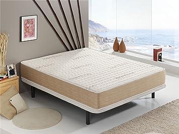 Living Sofa COLCHÓN VISCO Bamboo® 80x180 CM | con Fibras Naturales DE Bamboo | 19