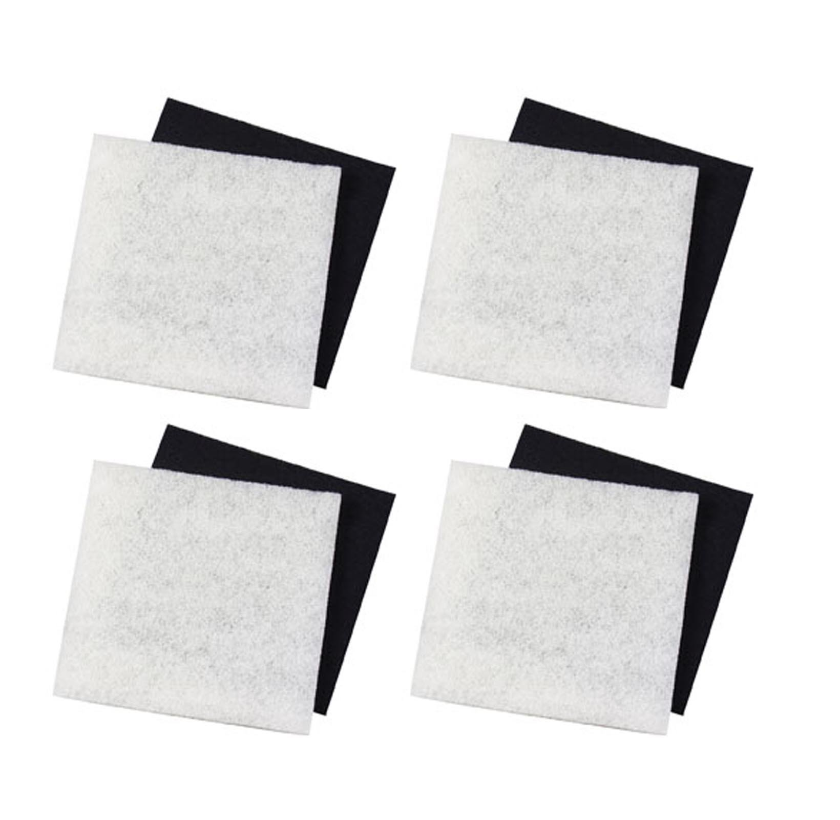 PondMaster (4) 1000 & 2000 Carbon & Coarse Poly Pad Replacement Filters   12202