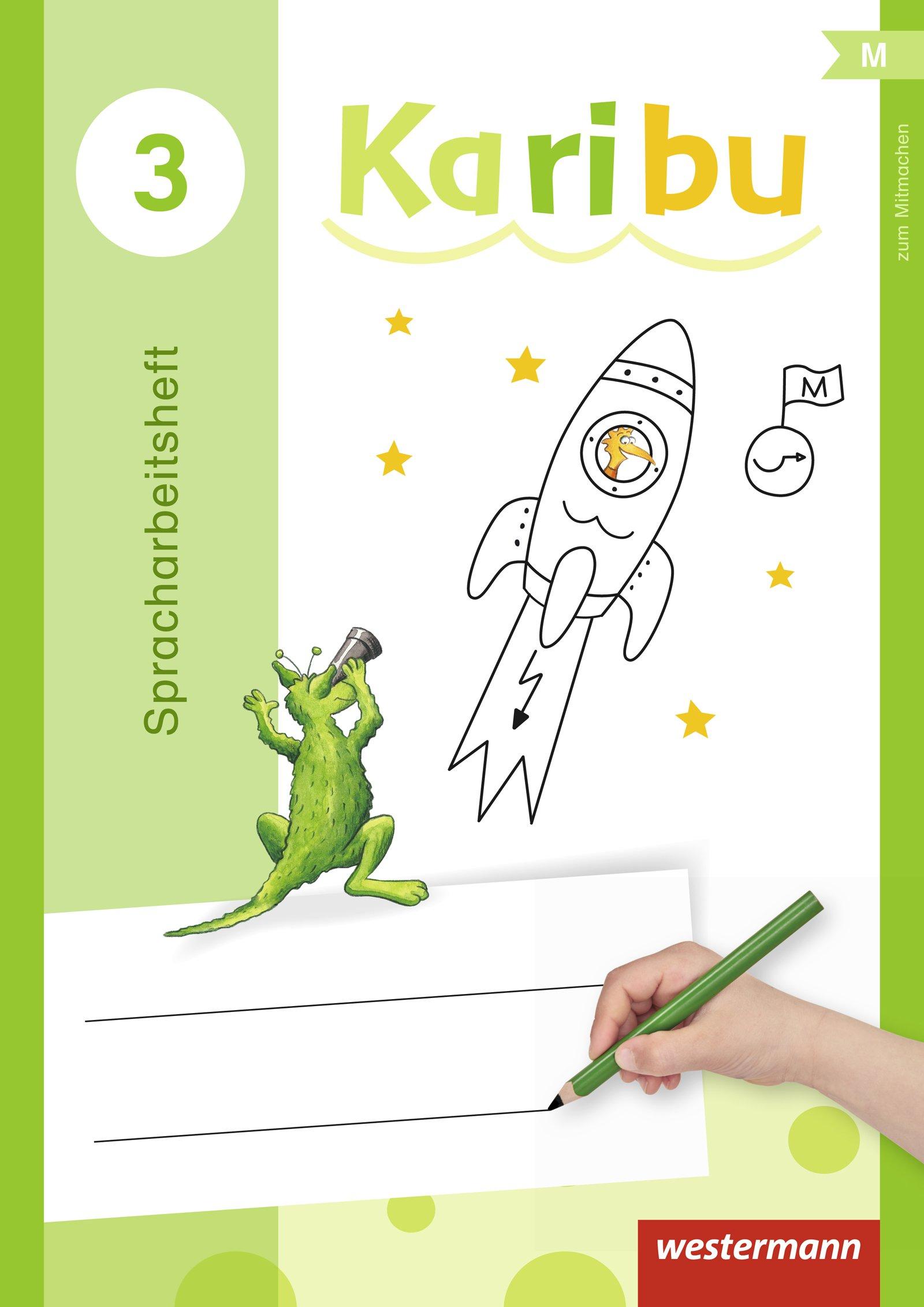 Karibu 3 Spracharbeitsheft Taschenbuch
