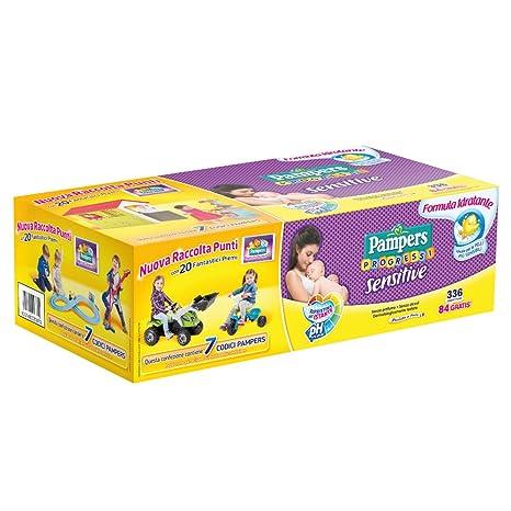 Pampers 8001480083073 336pieza(s) toallita húmeda para bebé - Toallitas húmedas para bebé (
