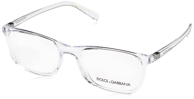 Amazon.com  Eyeglasses Dolce and Gabbana DG 5027 3133 CRYSTAL  Clothing 5e0c917cd6