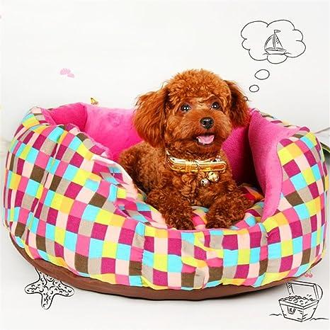 STAZSX Perro de la perrera colchón de verano Teddy Bomei pequeño perro Bichon Frise sofá camada