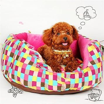 STAZSX Perro de la perrera colchón de verano Teddy Bomei pequeño perro Bichon Frise sofá camada de gato gato cama temporada de arena para mascotas, ...