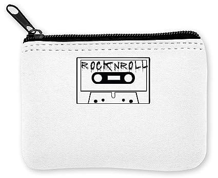 Cassette, RocknRoll Artwork Monedero de la Cremallera de ...