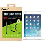 "Cyxus Blue Light UV Filter [Sleep Better] 9H Tempered Glass Screen Protector for Apple iPad Pro 9.7""(9.7inch)"