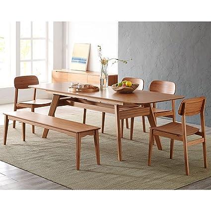 Grosella (madera de bambú extensible conferencia mesa madera de ...