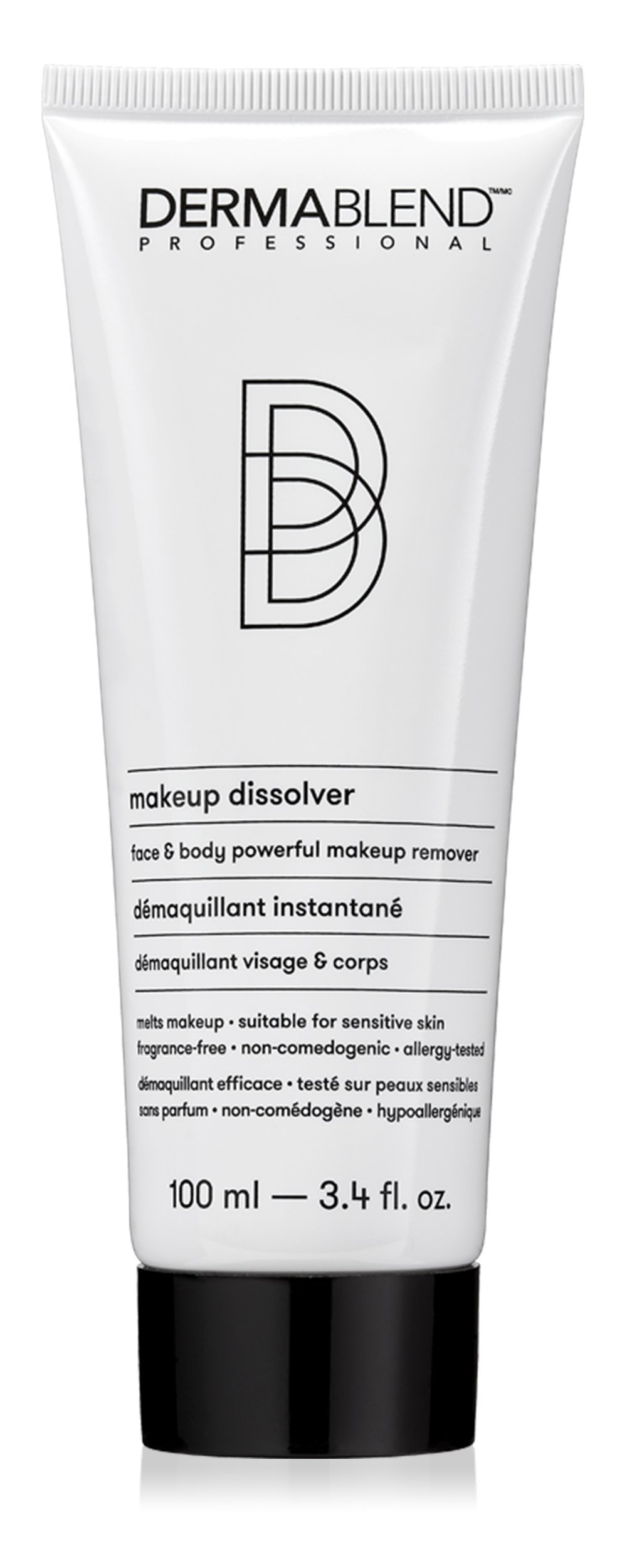 Dermablend Makeup Remover Dissolver for Face and Body, 3.4 Fl. Oz. by Dermablend