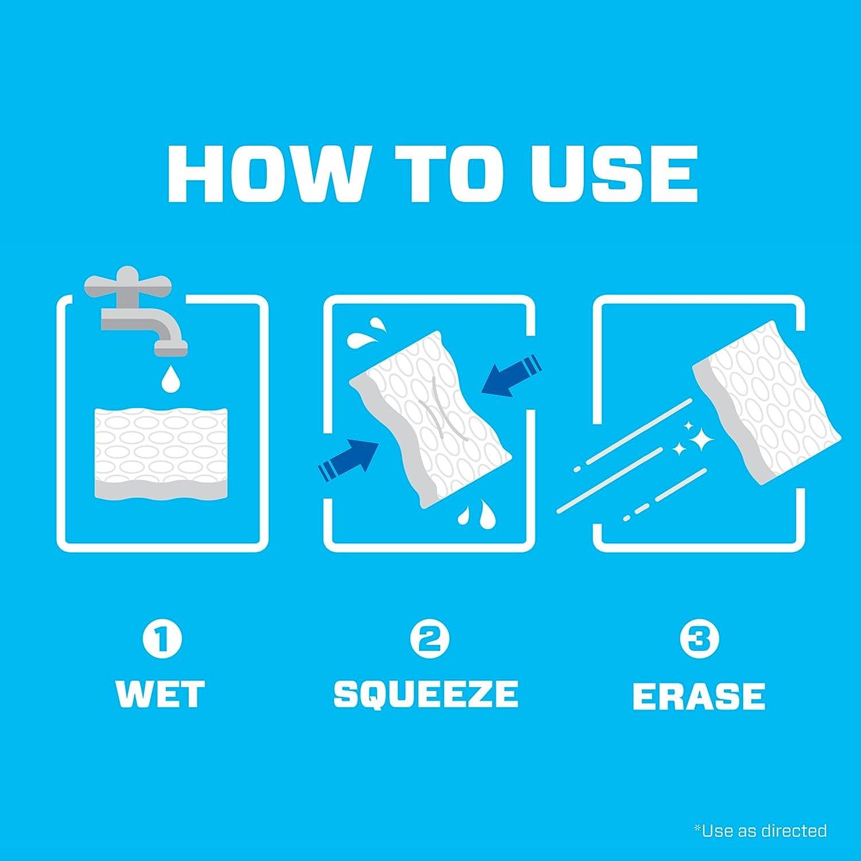 Amazon.com: Mr. Clean Magic Eraser Bath, Cleaning Pads with Durafoam ...