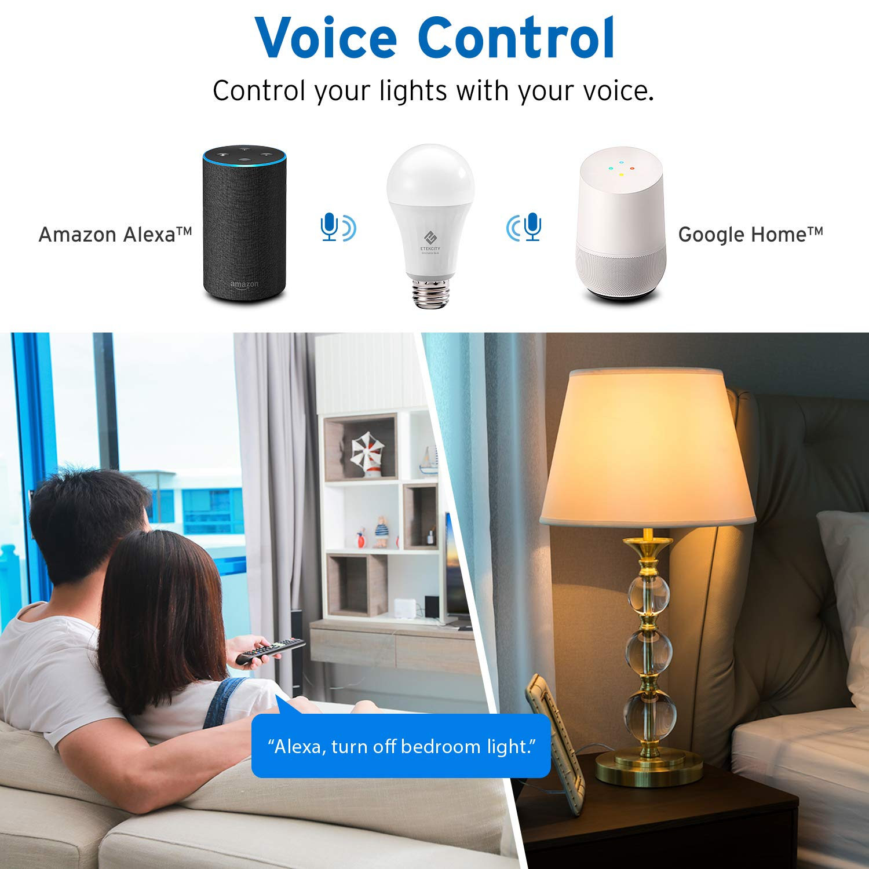 Etekcity Smart LED Dimmable Light Bulb Soft White, Favorite